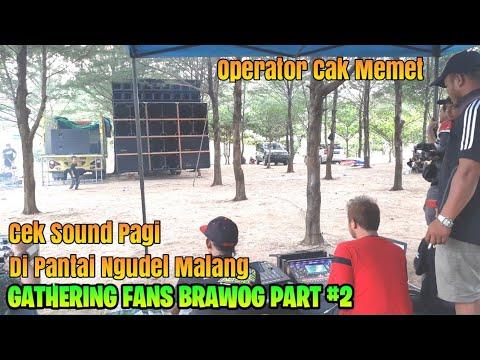 CEK SOUND PAGI BREWOG DI PANTAI NGUDEL MALANG - GATHERING FANS PART #2