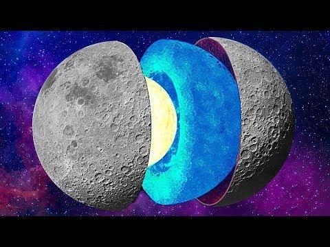 Что Находится Внутри Луны? Самые Жуткие Теории