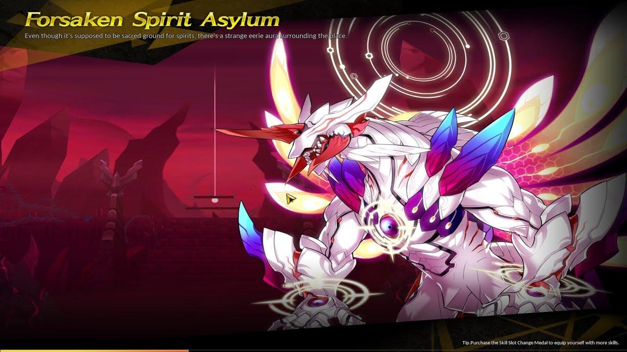 [Elsword NA] Immortal Varnimyr Dungeon - Forsaken Spirit Asylum