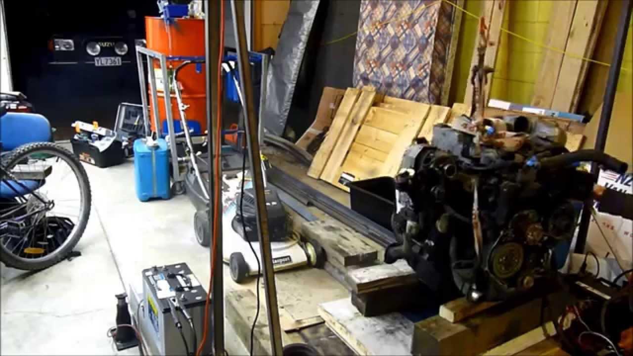 4jb1 Isuzu Engine Startup After Injector Pump Seal Rebuild