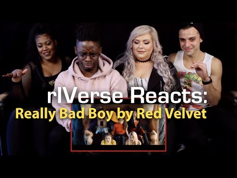 rIVerse Reacts: Really Bad Boy by Red Velvet - MV Reaction