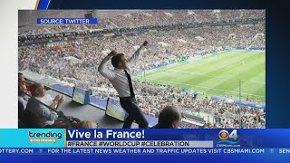 Trending: France World Cup Win