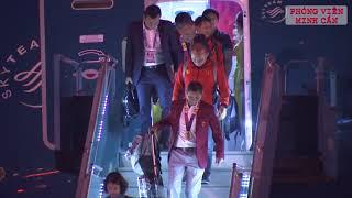 U22 Việt Nam và đội tuyển nữ Việt Nam rạng ngời về nước sau thành công rực rỡ tại SEA Games 30