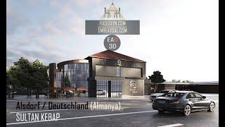 Sultan Kebap - Almanya Türk Restaurant Projesi - EA & Fix Dizayn