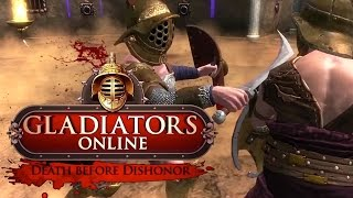 Gladiators Online: Death Before Dishonor - Steam Launch Trailer