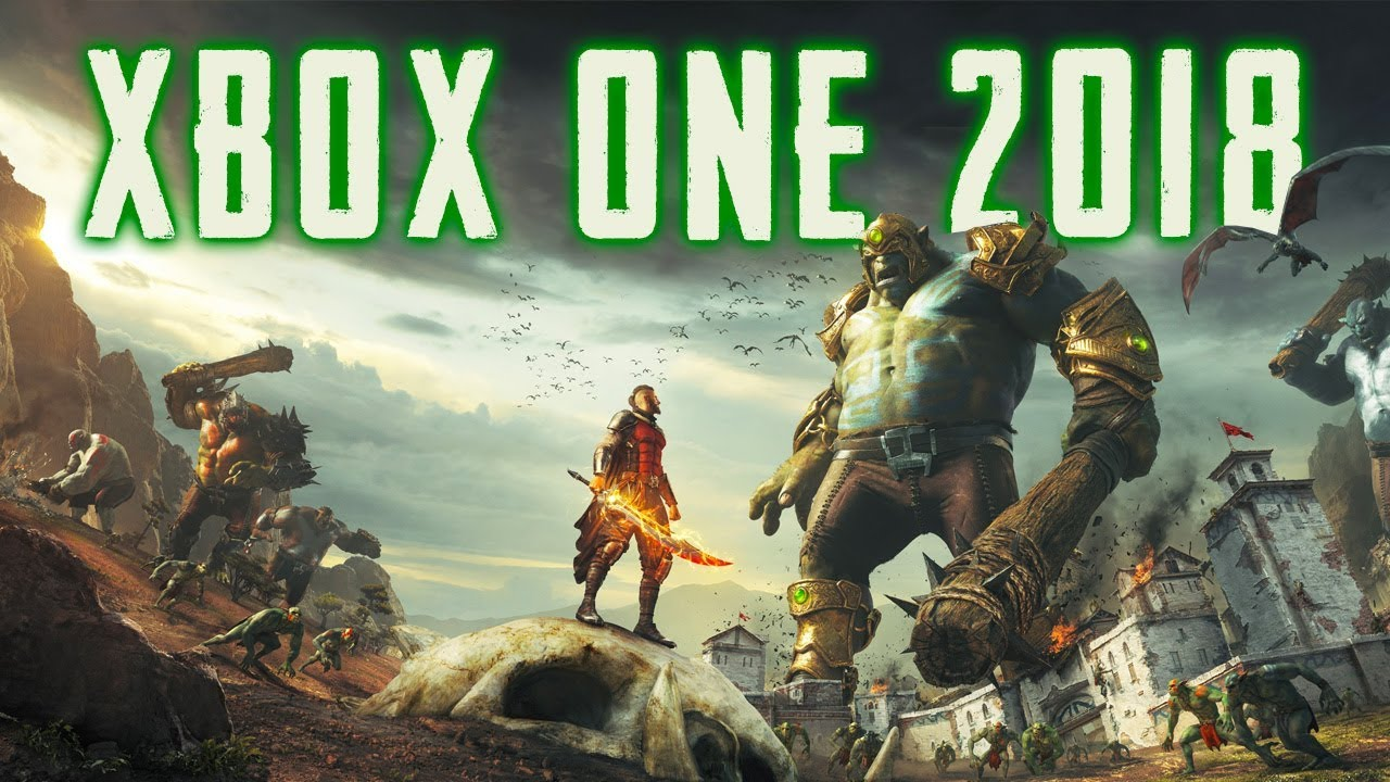 Top 40 New Xbox One Games Of 2018 Doovi