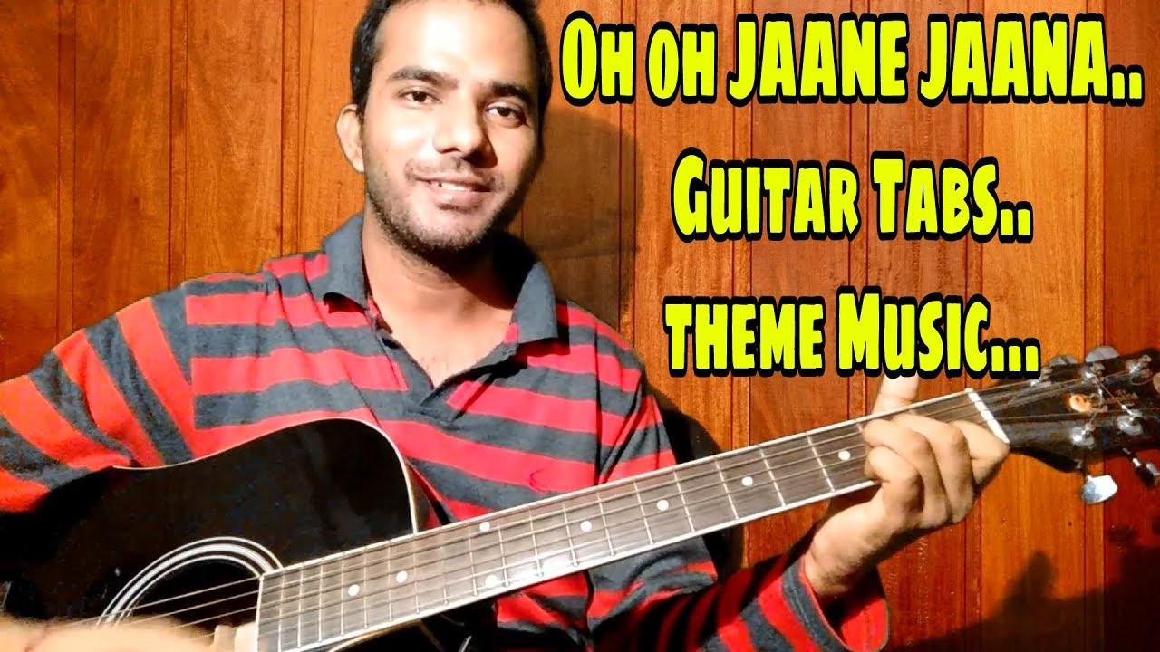 O O Jaane Jaana Guitar Tabs Lead Pyar Kiya To Darna Kya Lesson