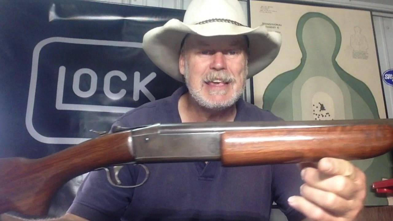 winchester 1937 410 shotgun 3 inch youtube