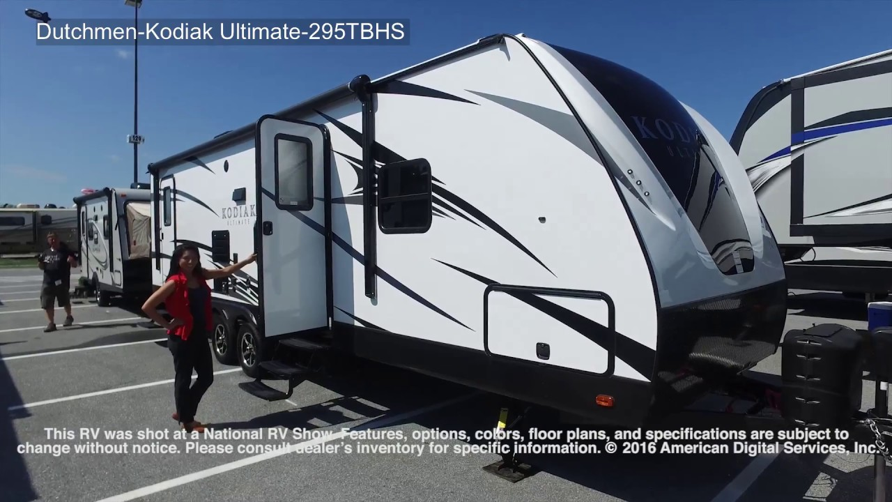 2018 Kodiak Travel Trailers Floor Plans New 2018 Dutchmen Rv Kodiak Ultimate 295tbhs Travel Trailer