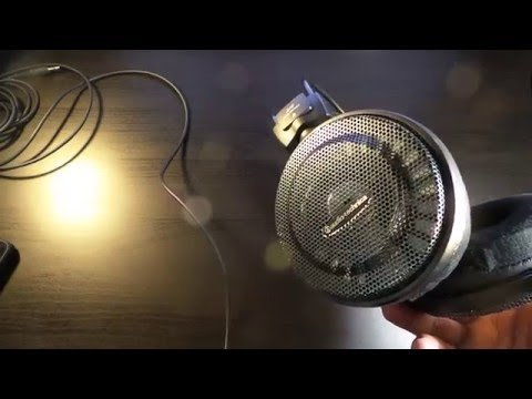 Audio Technica ATH-AD700X Open back Headphones ( Last Word Review )