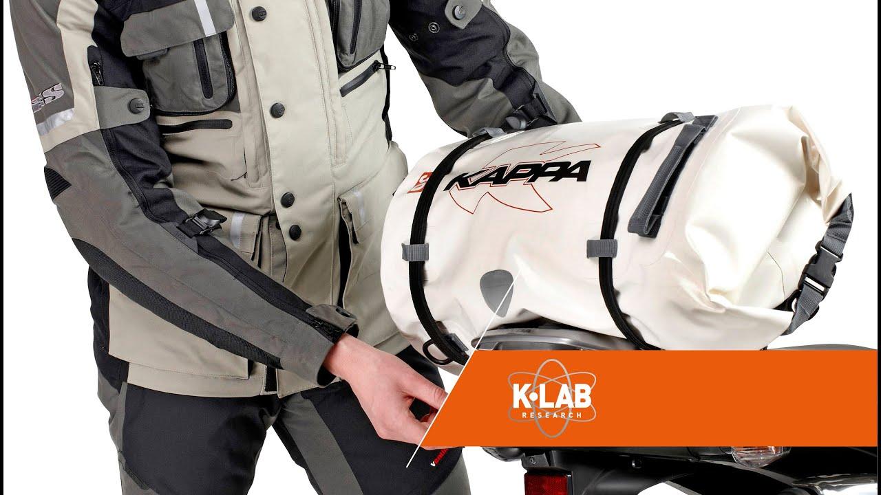 6ba59988b45 Kappa waterproof tail bag - Kappamoto.com - YouTube