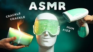 ASMR NEURAL TINGLE EXPLOSION - Experimental Triggers for Relaxation, Sleep & Study