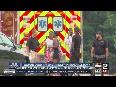 Woman dead after standoff in Randallstown