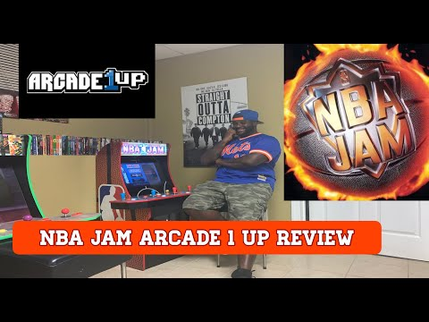 Arcade1up NBA Jam Review from MrmoviesXkicks