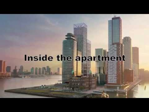 Apartment for rent in Rotterdam in prestigious building Montevideo via Stad & Land