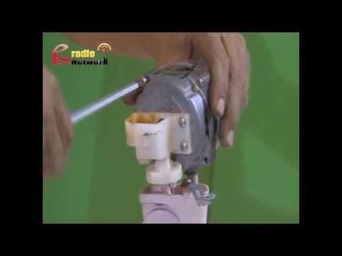 ซ่อมพัดลม กรณีพัดลมหมุนช้า ตอน การเปลี่ยนบู๊ท พัดลม