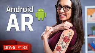 Android Tips - Best Augmented Reality Games and Apps for Android - DIY in 5 Ep 83
