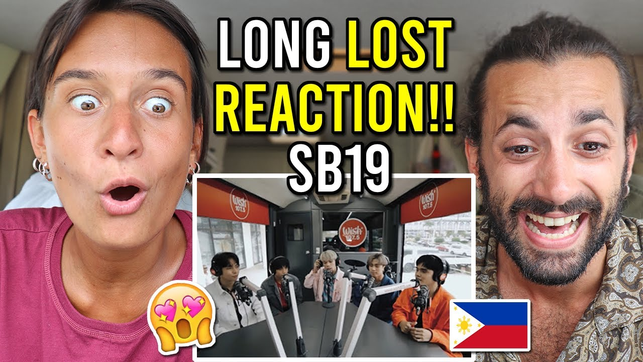 """SB19 FIRST TIME REACTION - """"Go Up"""" on Wishbus (Throw Back!)"""