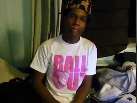 Rare ASAP Rocky Freestyle YouTube