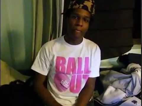 Rare ASAP Rocky Freestyle YouTube