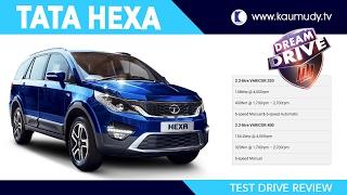 Tata Hexa Full Test Drive Review   Dream Drive