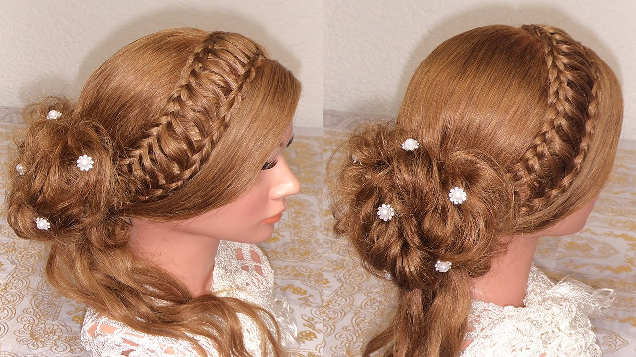 peinado recogido elegante recogidos con trenzas ForRecogidos Bonitos Y Sencillos