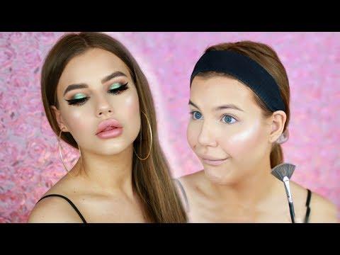 Full face av NYTT SMINK!!! Makeup revolution concealer, Urban decay x Kristen Leanne