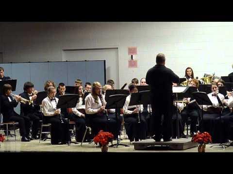 Menominee High School Christmas Concert 2013