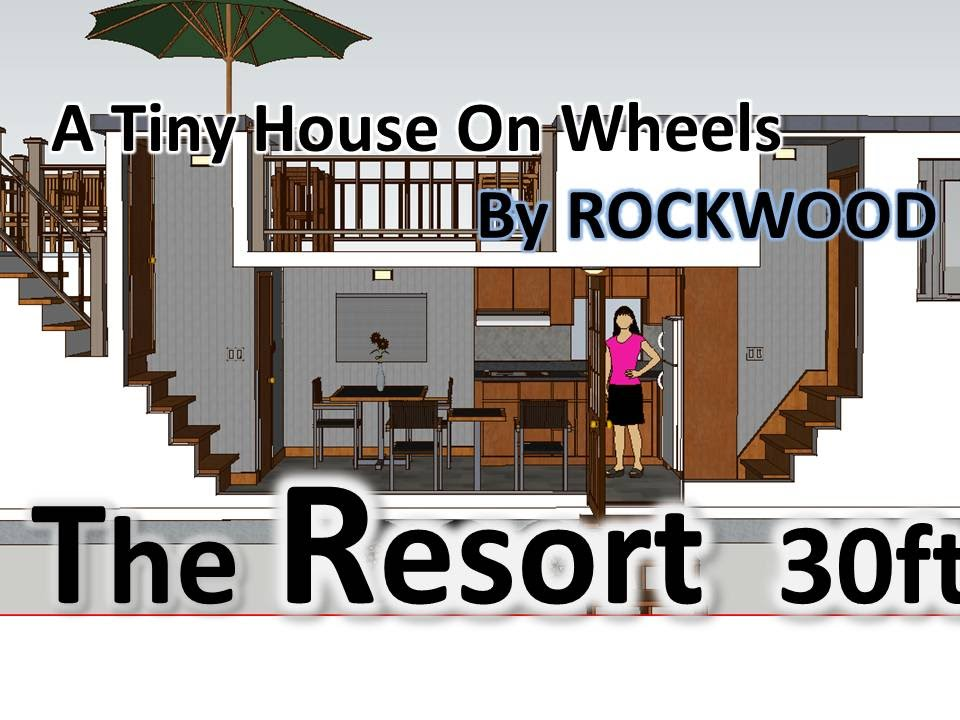The Resort 30 ft Model Tiny House Tiny Houses on