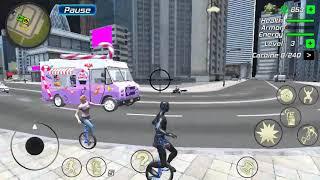 Rope Frog - new vehicles - Glider and one wheel bike