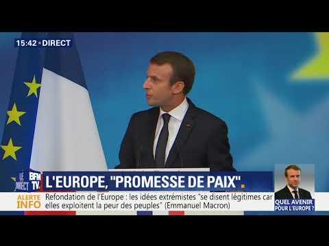 Emmanuel Macron sur l'Europe | La Sorbonne
