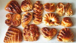 Сдобные булочки домашние   необычные варианты булочек   булочки с корицей   булочки рецепт