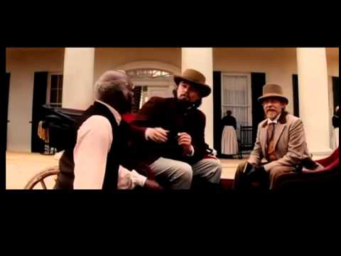 Django (Jamie Foxx) meets Stephen (Samuel L. Jackson) Quentin Tarantino Django Unchained