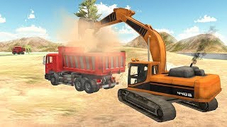 Heavy Excavator Simulator Pro (by Fazbro) Android Gameplay [HD] screenshot 1