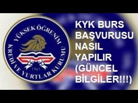 KYK BURS BAŞVURUSU NASIL YAPILIR!!