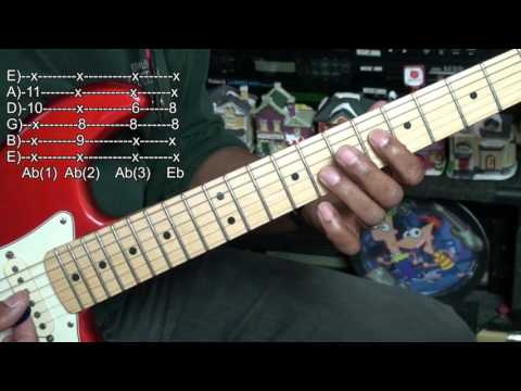 Charlie Brown Christmas Linus & Lucy Guitar Chord Tutorial Lesson EricBlackmonMusicHD