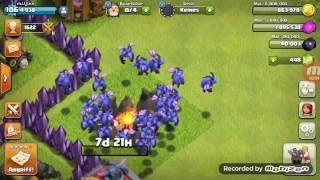 Challenge sa Lazarom (Full Minion attack na Strahinjinu bazu) Clash Of Clans #5