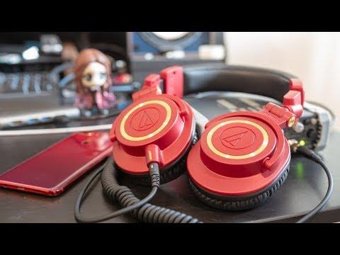 รีวิว Audio-Technica ATH-M50x Limited Edition   ชอบและเชียร์