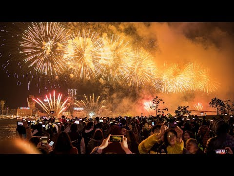 New Year's Eve Cities across the world welcome 2019