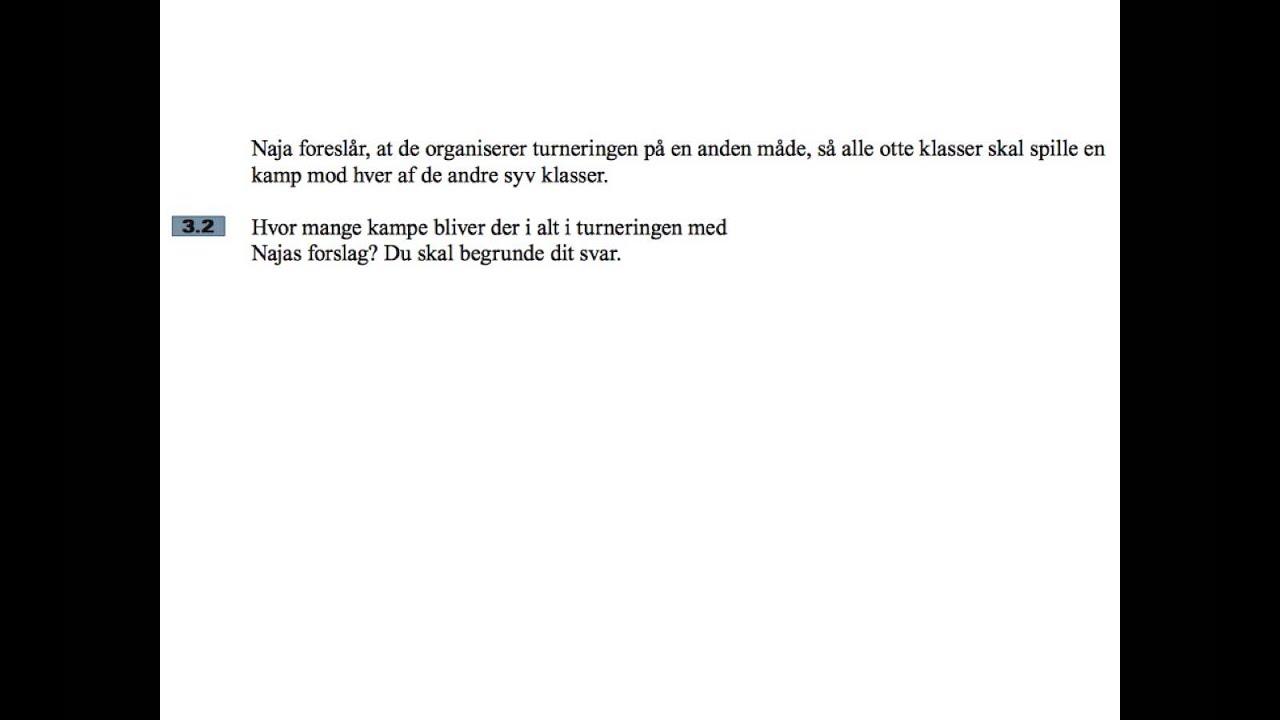 problemregning maj 2014