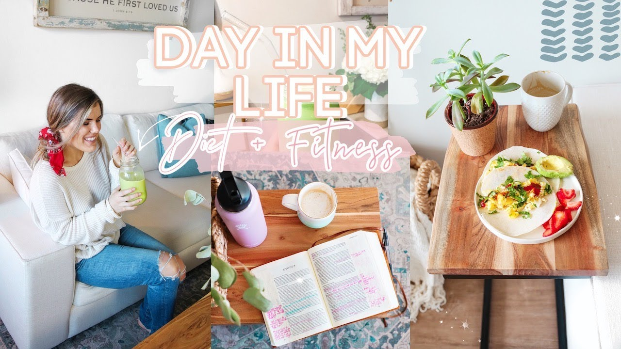 DAY IN THE LIFE | Healthy Habits I Do EVERYDAY + At Home Workout + Healthy Cooking