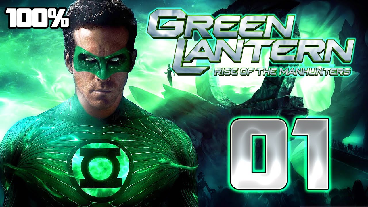 Download Green Lantern: Rise of the Manhunters Walkthrough Part 1 (PS3, X360) 100% Mission 1