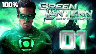 Green Lantern: Rise of the Manhunters Walkthrough Part 1 (PS3, X360, Wii) 100% Mission 1