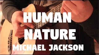 "Michael Jackson ""Human Nature"" on Fingerstyle by Fabio Lima"