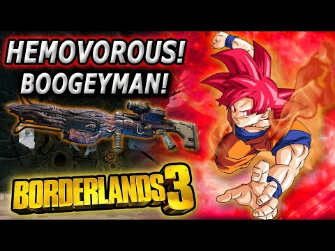Hemovorous can't Boogey man| Boogeyman only Hemovorous Borderlands 3 Moze |