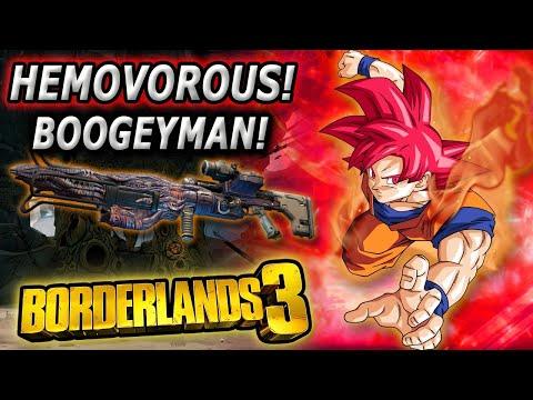 Hemovorous can't Boogey man| Boogeyman only Hemovorous Borderlands 3 Moze |