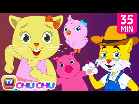 Thumbnail: Old MacDonald Had a Farm Animal Sounds Songs by Cutians | Baby Nursery Rhymes Collection | ChuChu TV