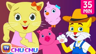 Old MacDonald Had a Farm Animal Sounds Songs by Cutians   Baby Nursery Rhymes Collection   ChuChu TV