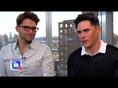 Tom Schwartz and Tom Sandoval talk going into business with LVP  DailyMailTV