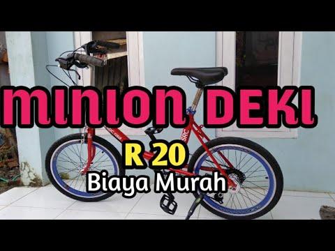 Sepeda Minion Bengkel Elipit Jl Kalikembang Desa Pageralang Youtube